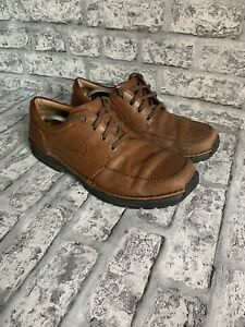 CLARKS ACTIVE AIR BROWN LEATHER MEN'S SHOES SIZE UK 11 G
