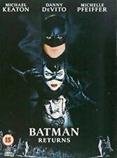 Batman Returns DVD Michael Keaton Tim Burton Movie Film Original UK Release R2