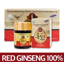 100% PURE Korean Red Ginseng Extract Gold VIP100 Panax 100g × 3ea =300g, Health