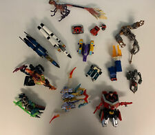 Transformers Action Figure Toy Lot All Missing Parts - None Complete Plus Extras
