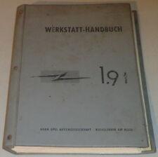 Taller de mano libro Opel Blitz 1,9 mil toneladas año de construcción 1960-1965 stand 02/1961