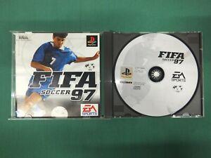 PlayStation -- FIFA SOCCER 97 -- PS1. JAPAN. GAME. Works. 18355
