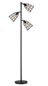Modern Floor Lamp for Living Room Bright Lighting Tall Stand Up Lamp Farmhouse