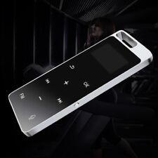 Metal Bluetooth Loseless 8GB Touch Screen HiFi Bluetooth MP3 Music Player