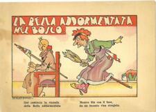Libretto bambini LA BELLA ADDORMENTATA NEL BOSCO istituto naz. Assicurazioni 194