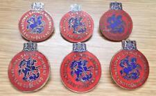 Job Lot of 6 x WW2 National Savings Movement Lend To Defend Enamel Badges