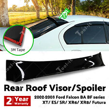 4 Door Sedan Roof Visor Spoiler Sun Guard Wing for FORD FALCON BA BF XT/XR6/XR8