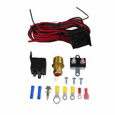 BEST 185~200 Electric Engine Cooling Fan Thermostat Switch Relay Accessories