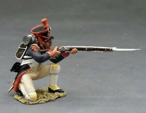 King & Country Set NA107, Napoleonic French Line Grenadier, Kneeling Firing, MIB