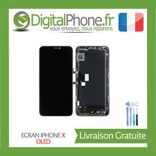 ECRAN LCD OLED RETINA POUR IPHONE X IPHONE 10 NOIR ASSEMBLÉ AVEC OUTILS --TVA-