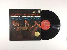HAYDN / SCHUBERT, GRUMIAUX-TRIO 3 / 2 String Trios LP Philips SAL3782 VG++ 9C/A
