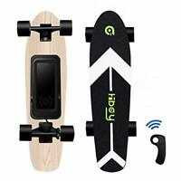 Hiboy S11 Electric Skateboard 12.4 mph 6 Miles Longboard with Remote for Teens