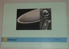 Manual de instrucciones de renault autoradio radiosat stand 03/2006