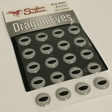SURFACE SEDUCER DRAGON  EYES 8.5MM ARCTIC COLOURWAY FLY TYING