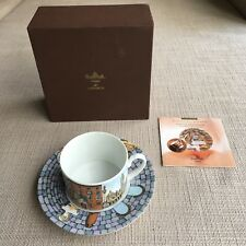Rosenthal Classic FORNASETTI  Cup & Saucer –'Roma' Collectable – New in Box
