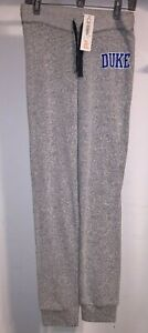 Women's Camp David Duke Blue Devils Grey Pepper Drawstring Sweatpants NEW w/ Tag