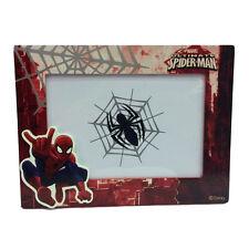 SPIDERMAN SPIDERMAN cadre rectangulaire rouge 18,5x14 cm pour enfant