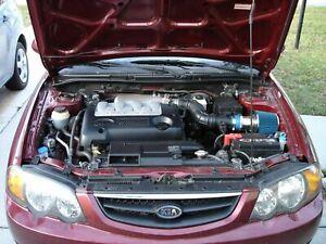 BCP BLUE For 2000-2009 Sephia Spectra 5 1.8L 2.0L 2.5L Ram Air Intake Kit+Filter