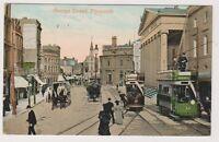 Devon postcard - George Street, Plymouth - P/U (A354)