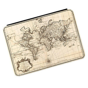 Vintage Old World Map #2 Kindle Paperwhite Touch PU Leather Flip Case Cover