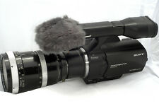 SONY NEX VG-30 16MP CAMCORDER w/ ZEISS SONNAR 10-100 & ARRI-to-E-MOUNT Adapter