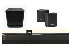 BOSE Soundbar 500 + Bass Module 500 + Surround Speakers Schwarz