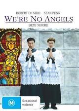 WE'RE NO ANGELS - ROBERT DE NIRO SEAN PENN COMEDY NEW DVD MOVIE SEALED