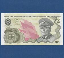 JUGOSLAWIEN / YUGOSLAVIA 100 Dinara (1990) UNC  P.101A