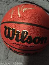 Milwaukee Bucks Jabari Parker Signed Autographed NBA Basketball COA