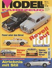 Modell Fahrzeug 2003 3/03 Magazin Münch Mammut Mercedes Ponton Mini Cooper S