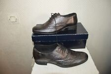 CHAUSSURE LACET REQINS CUIR TAILLE 39 SHOES/ZAPATOS/STIVALI NEUF BOITE