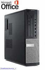 Dell Desktop Computer PC HDMI Intel core i5 8GB New 250GB SSD WiFi Windows 10