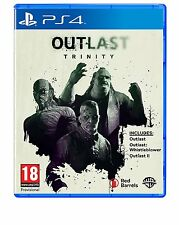 Outlast Trinity Double Pack Playstation 4 PS4 NEW SEALED FREE UK p&p