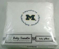 "Michigan Wolverines Baby Wolverine Cotton Pillow by Baby Fanatic NEW 10"" x 10"""