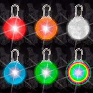 Hunde Leuchtanhänger Leuchthalsband Led Hundehalsband  LH6 Blinkie Led Anhänger