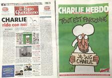 CHARLIE HEBDO allegato a IL FATTO QUOTIDIANO del 14/01/2015 TOUT EST PARDONNE'