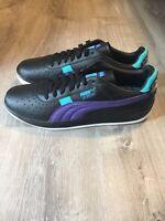 PUMA GV Special Last Dayz Tennis Shoe Black Purple Black 370578-01 Sz 13