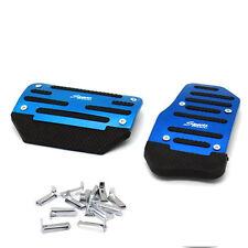 2X NonSlip Car Automatic Transmission Blue Pedal Cover Brake Clutch Accelerator