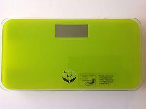 NewlineNY Step-On Mini Travel Bathroom Scale - Modern Green
