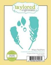 TAYLORED EXPRESSIONS   WISPY FEATHERS  DIES  TE316
