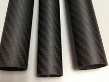 Matt 1x 18 mm OD x 16 mm ID x 500 mm 3k fibre de carbone Tube Roll-Enveloppé (CF18-M)