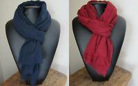 Foulard/cheche XXL 120 X 190 cm Hommes/femmes 100% coton