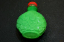 VERY RARE !!! AMAZING IMPERIAL AGUA GREEN CHINESE AGATE GLASS SNUFF BOTTLE CHINA