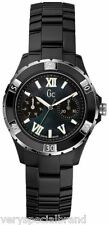 Guess GC Black Stainless Steel Watch X69002L2S