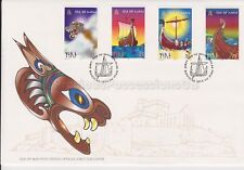Unaddressed Isle of Man FDC First Day Cover 1998 Viking Ships 10% off 5+