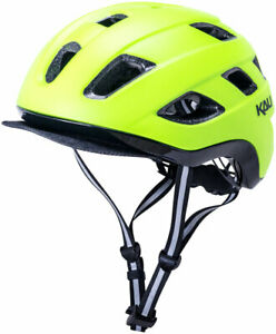 NEW Kali Protectives Traffic Helmet - Solid Matte Fluorescent YLW Large/X-Large