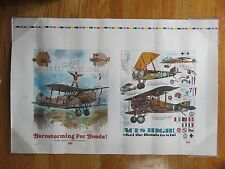 """AETNA Insurance """"Flying High in '79 Bond Campaign"""" ACES HIGH AIRPLANES Poster"""