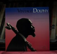 """Used 12"""" LP M- Eric Dolphy Vintage Dolphy 1986 GM Recordings GM 3005D"""