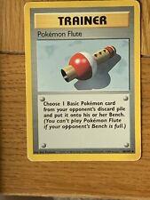Pokemon Trading Cards Base Set Trainer Pokemon Flute