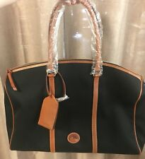 Dooney & Bourke Black Getaway Carry All Travel Bag - NEW WITH DEFECTS